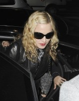 Madonna and Brahim Zaibat leaving the Aura Nightclub in Mayfair, London on January 6th 2011 21
