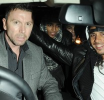 Madonna and Brahim Zaibat leaving the Aura Nightclub in Mayfair, London on January 6th 2011 24