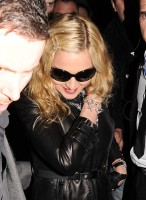 Madonna and Brahim Zaibat leaving the Aura Nightclub in Mayfair, London on January 6th 2011 29