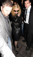Madonna and Brahim Zaibat leaving the Aura Nightclub in Mayfair, London on January 6th 2011 30