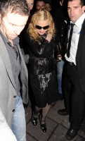 Madonna and Brahim Zaibat leaving the Aura Nightclub in Mayfair, London on January 6th 2011 31