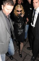 Madonna and Brahim Zaibat leaving the Aura Nightclub in Mayfair, London on January 6th 2011 32