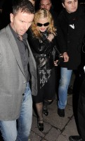 Madonna and Brahim Zaibat leaving the Aura Nightclub in Mayfair, London on January 6th 2011 33