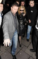 Madonna and Brahim Zaibat leaving the Aura Nightclub in Mayfair, London on January 6th 2011 34