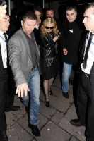 Madonna and Brahim Zaibat leaving the Aura Nightclub in Mayfair, London on January 6th 2011 35