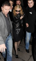 Madonna and Brahim Zaibat leaving the Aura Nightclub in Mayfair, London on January 6th 2011 36