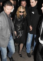 Madonna and Brahim Zaibat leaving the Aura Nightclub in Mayfair, London on January 6th 2011 37