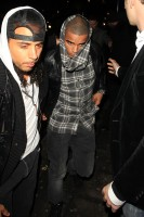 Madonna and Brahim Zaibat leaving the Aura Nightclub in Mayfair, London on January 6th 2011 38