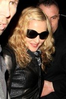 Madonna and Brahim Zaibat leaving the Aura Nightclub in Mayfair, London on January 6th 2011 41