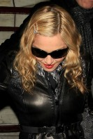 Madonna and Brahim Zaibat leaving the Aura Nightclub in Mayfair, London on January 6th 2011 43
