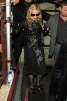 Madonna and Brahim Zaibat leaving the Aura Nightclub in Mayfair, London on January 6th 2011 45