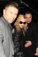 Madonna and Brahim Zaibat leaving the Aura Nightclub in Mayfair, London on January 6th 2011 46