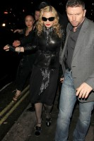Madonna and Brahim Zaibat leaving the Aura Nightclub in Mayfair, London on January 6th 2011 47