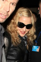 Madonna and Brahim Zaibat leaving the Aura Nightclub in Mayfair, London on January 6th 2011 49