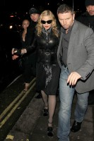 Madonna and Brahim Zaibat leaving the Aura Nightclub in Mayfair, London on January 6th 2011 51