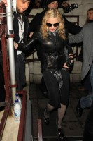 Madonna and Brahim Zaibat leaving the Aura Nightclub in Mayfair, London on January 6th 2011 52