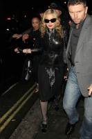 Madonna and Brahim Zaibat leaving the Aura Nightclub in Mayfair, London on January 6th 2011 54