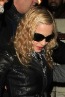 Madonna and Brahim Zaibat leaving the Aura Nightclub in Mayfair, London on January 6th 2011 57