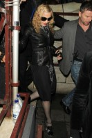 Madonna and Brahim Zaibat leaving the Aura Nightclub in Mayfair, London on January 6th 2011 62