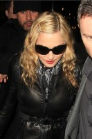 Madonna and Brahim Zaibat leaving the Aura Nightclub in Mayfair, London on January 6th 2011 63