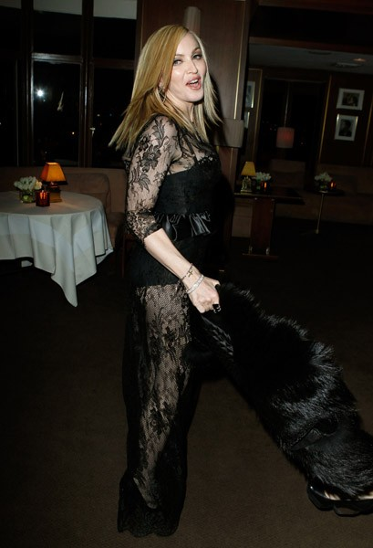 Madonna And Lourdes At The Vanity Fair Oscar Party Los Angeles 27 February 2011 35 Pictures