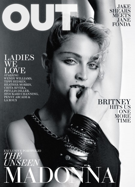 Madonna par Richard Cameron pour Out Magazine [HQ Cover] - Exclu