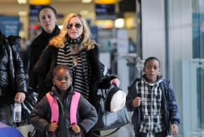 Madonna arriving at Heathrow airport, London (11)