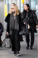 Madonna arriving at Heathrow airport, London (12)