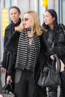 Madonna arriving at Heathrow airport, London (13)
