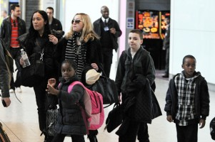 Madonna arriving at Heathrow airport, London (17)