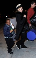 Madonna leaving JFK airport, New York (1)