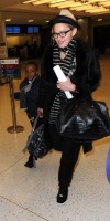 Madonna leaving JFK airport, New York (2)
