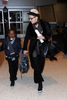 Madonna leaving JFK airport, New York (4)