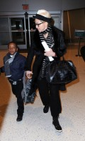 Madonna leaving JFK airport, New York (5)