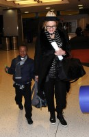 Madonna leaving JFK airport, New York (7)