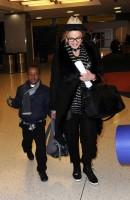 Madonna leaving JFK airport, New York (7)