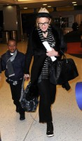 Madonna leaving JFK airport, New York (8)