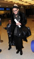 Madonna leaving JFK airport, New York (10)