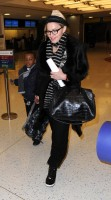 Madonna leaving JFK airport, New York (11)