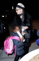 Madonna leaving JFK airport, New York (12)