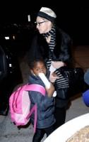 Madonna leaving JFK airport, New York (12)