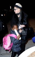 Madonna leaving JFK airport, New York (13)