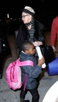 Madonna leaving JFK airport, New York (14)