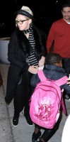 Madonna leaving JFK airport, New York (16)