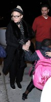 Madonna leaving JFK airport, New York (17)