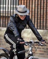 Madonna on her way to the Abbey Road Recording Studios, London (8)