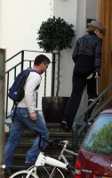 Madonna on her way to the Abbey Road Recording Studios, London (12)