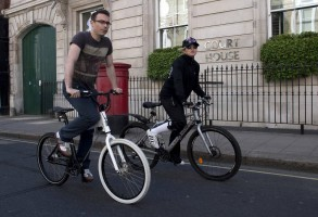 Madonna out and about in London - April 9th 2011 (2)