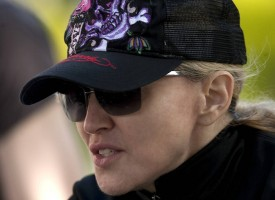 Madonna out and about in London - April 9th 2011 (7)