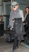 Madonna arriving at JFK airport, New York, April 12th 2011 (1)